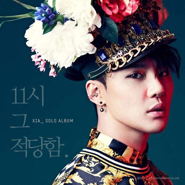 """จุนซูปล่อยภาพปกอัลบั้มสำหรับ """"11 o'clock"""""""