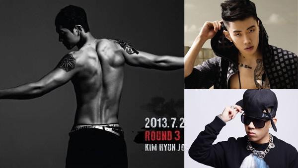 Kim hyun joong-Jay Park-Dok2