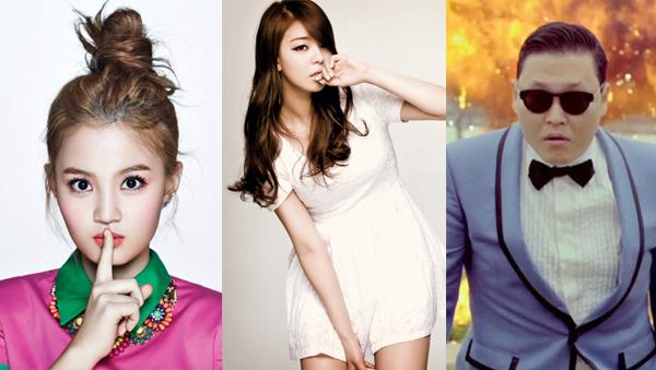 Lee Hi-Ailee-Psy