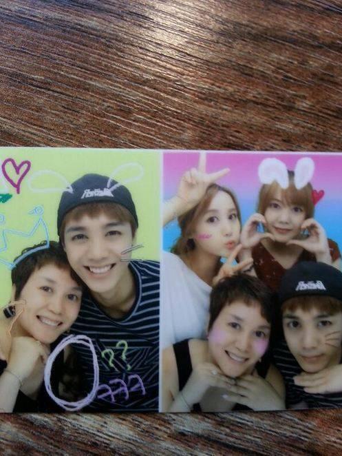 """มีร์ MBLAQ แชร์ภาพแห่งความสุขกับครอบครัวของเขา """"บังแฟมิลี่!"""""""