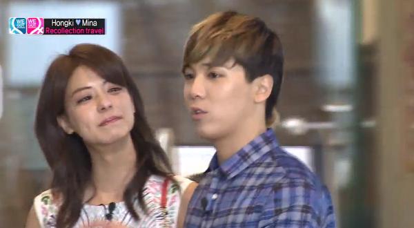 Mina cry