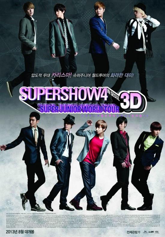 "Super Junior โชว์ทักษะการเต้น ""ฮูลาฮูล่า"" + เตรียมเปิดตัวภาพยนตร์ Super Show 4"
