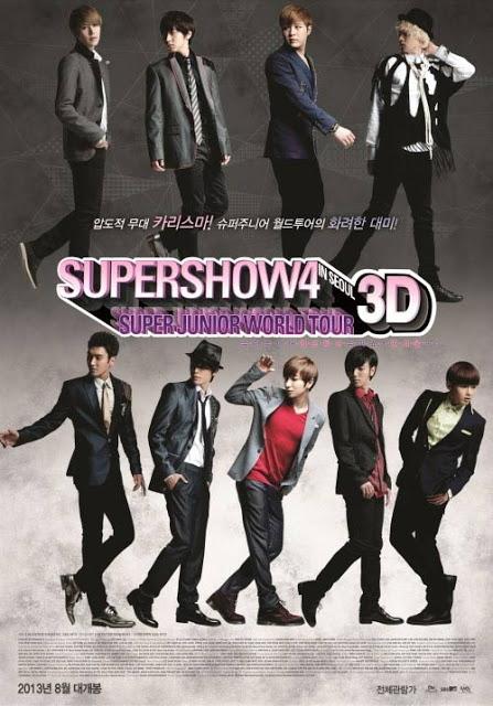 สมาชิก Super junior ปล่อย Trailer สำหรับภาพยนตร์ 3D 'Super Show 4'
