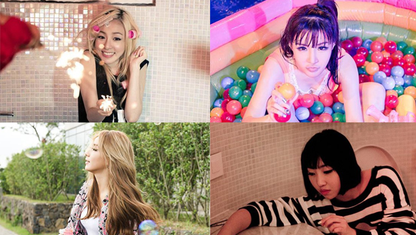 """2NE1 ปล่อยภาพที่ตัดมาจากการถ่ายทำ MV เพลง """"Do You Love Me"""""""