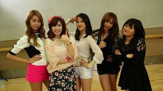 5Girls ft.Kim Shin Young-1