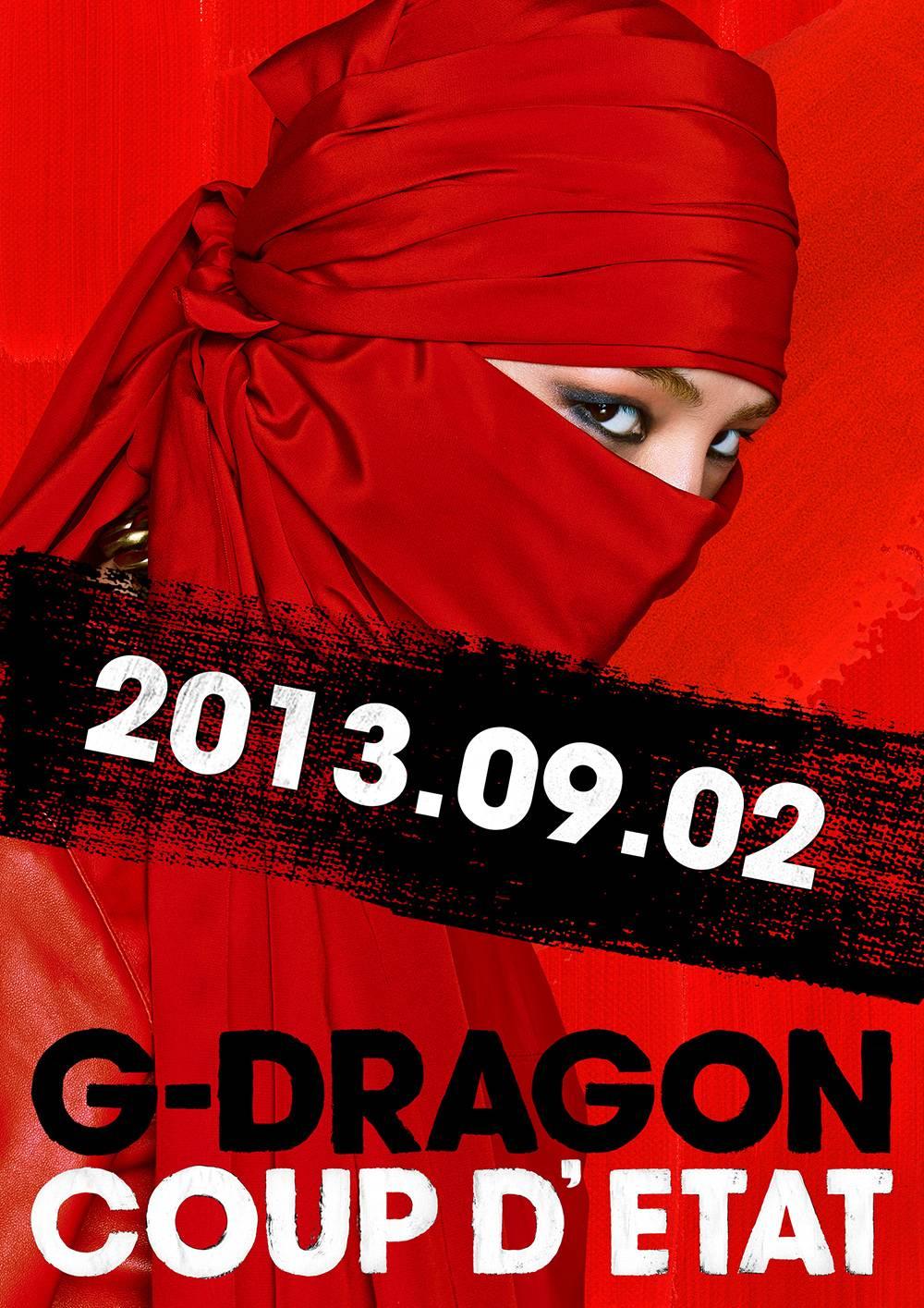 "G-Dragon เผยภาพทีเซอร์ที่ 2 สำหรับ ""Coup D'etat"""