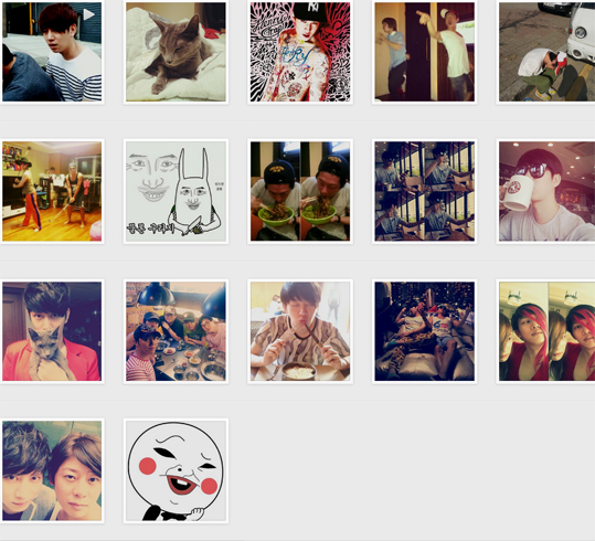Heechul-Instagram