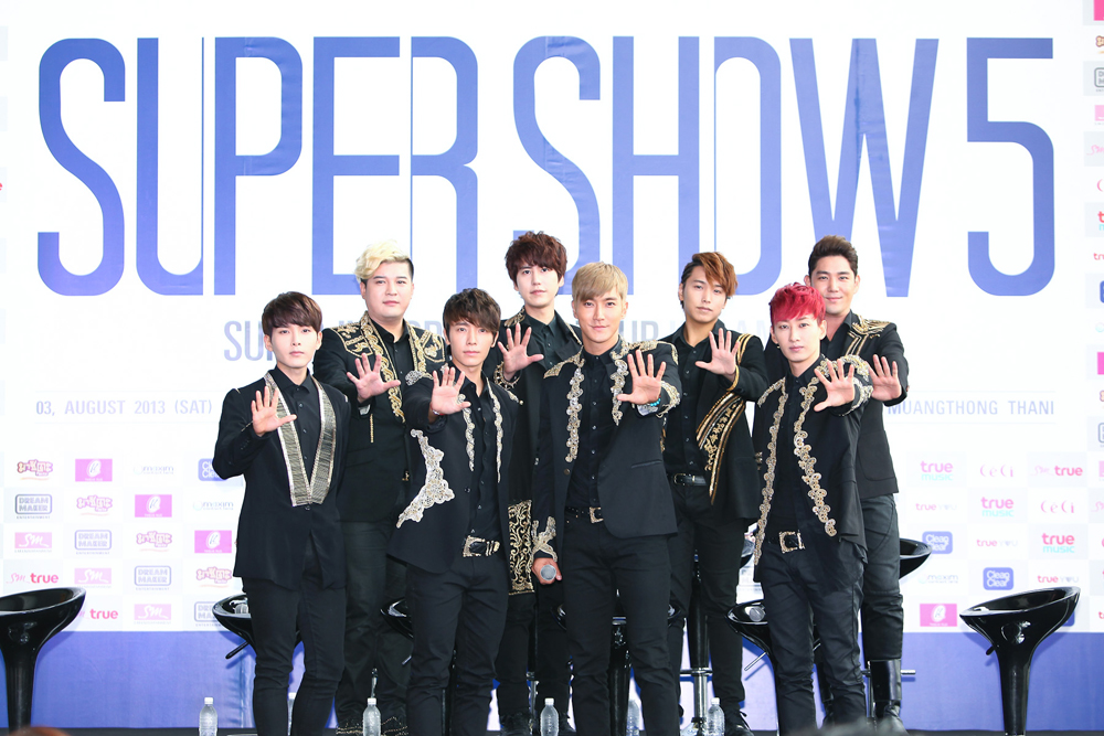บทสัมภาษณ์งานแถลงข่าวคอนเสิร์ต Super Junior 'SUPER SHOW 5' in Bangkok