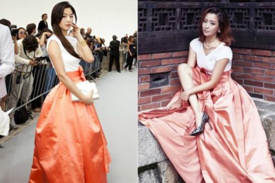 Jun Ji Hyun-Kim Hee Sun-1