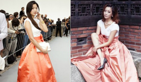 Jun Ji Hyun-Kim Hee Sun