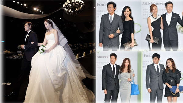 Lee Byung Hoon-Lee Min Jung-Wedding