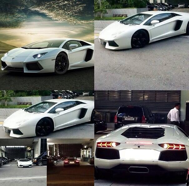 ว้าว!!G-Dragon ถูกพบขณะออกมาจากตึก YG พร้อมกับรถสุดหรู Lamborghini
