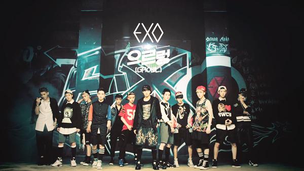 "[Live]EXO คัมแบ็คด้วยเพลง ""Growl"" บนเวที M!Countdown !!!"