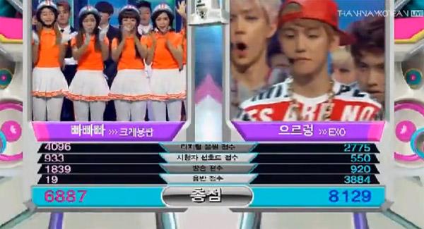 [Live]ผู้ชนะในรายการ Music Bank ประจำวันที่ 23/08/13 คือ..EXO!! + รวมการแสดงของศิลปิน