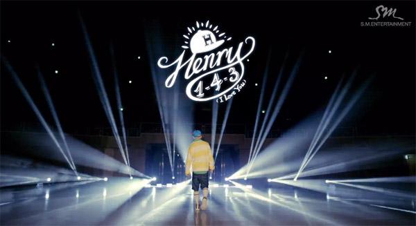 """เฮนรี่และแอมเบอร์ f(x) ปล่อย MV ทีเซอร์ในเพลง """"1-4-3 (I Love You)"""""""