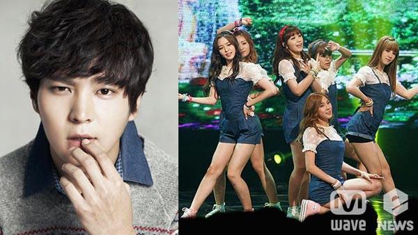 นักแสดงหนุ่มจูวอนเผยว่าเขาเป็นแฟนตัวยงของ A Pink!!