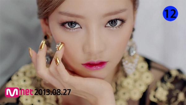 "KARA ปล่อย MV ทีเซอร์ตัวที่สองสำหรับเพลง ""Damaged Lady"""
