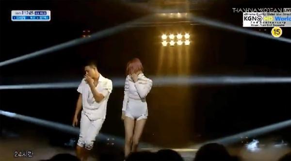 """[Live]ซอนมี (Sunmi) เดบิวต์เดี่ยวบนเวที Inkigayo ด้วยเพลง """"24 Hour"""""""