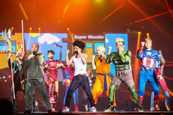 ภาพและบรรยากาศในคอนเสิร์ต Super Junior 'SUPER SHOW 5' in Bangkok