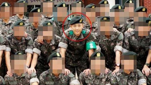 เผยภาพแรกของซงจุงกิหลังจากเข้ากองทัพ