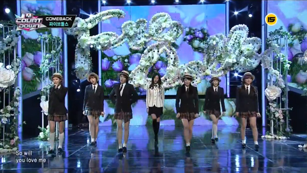 "[Live HD]5Dolls คัมแบ็คด้วยเพลง ""I Love You,I Don't Love You"" feat. ดานี T-ara"