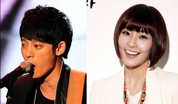 Jung Joon Young and Jung Yoo Mi