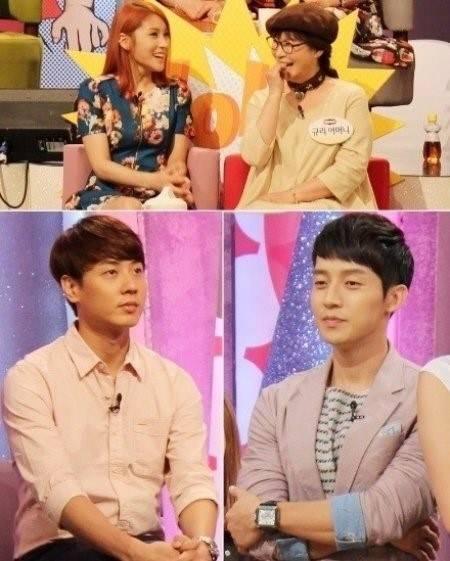 คุณแม่ของกยูริเลือกลูกเขยที่เหมาะกับลูกสาวระหว่างฮอคยองฮวานและแอนดี้ Shinhwa
