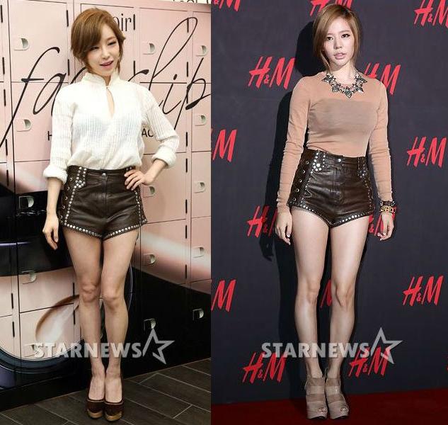 ใครใส่แล้วดูดีกว่ากันระหว่าง : กาอิน Brown Eyed Girls และซันนี่ Girls Generation