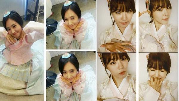 Yuri-Tiffany-Hanbok