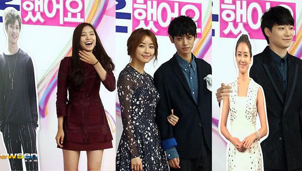 ภาพบรรยากาศคู่รักใหม่ นาอึน,จองยูมิ,จองจุนยอง และคนอื่นๆเข้าร่วมงานแถลงข่าว WGM