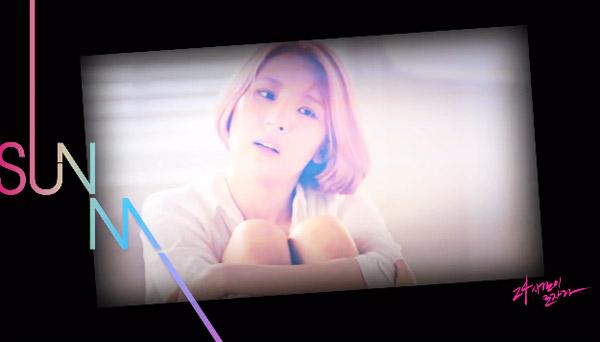"""ซอนมีปล่อยคลิปเบื้องหลังการถ่ายทำ MV เพลง """"24 Hour"""""""