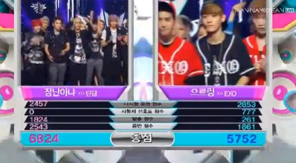 [Live]130906 ผู้ชนะในรายการ Music Bank ได้แก่...TEEN TOP!! + การแสดงวันนี้