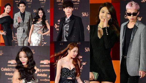 เหล่าไอดอลคนดังมากมายร่วมเดินพรมแดงในงาน '2013 Style Icon Awards'