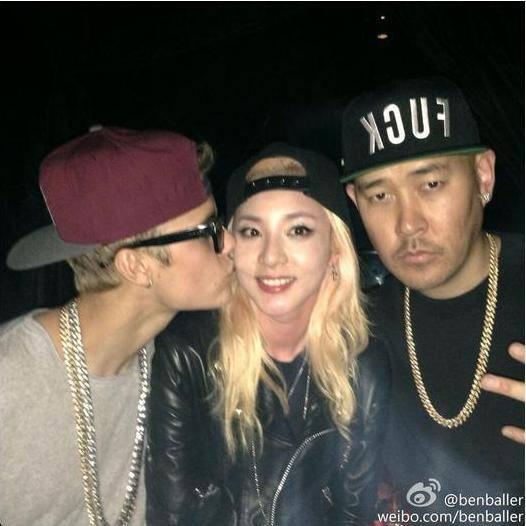 2NE1-Dara-Justin