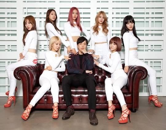 สาวๆ AOA เชียร์ละครเรื่องใหม่ที่ยงฮวา CNBLUE รุ่นพี่ของพวกเธอร่วมแสดงในภาพครอบครัว FNC