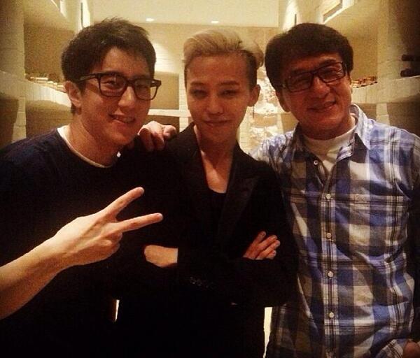 G-Dragon-Jackie Chan