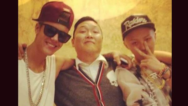 G-Dragon-Psy-Justin Bieber-2