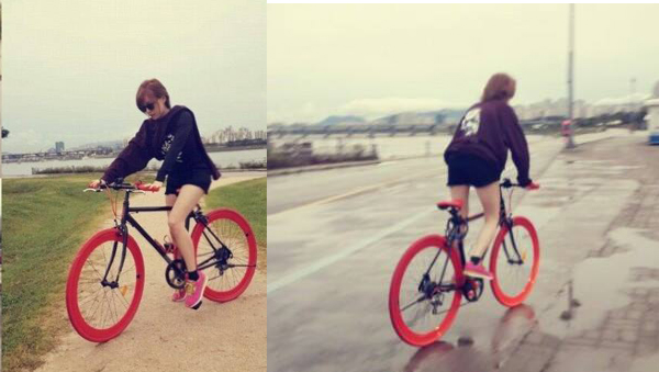Ga In-Bicycle