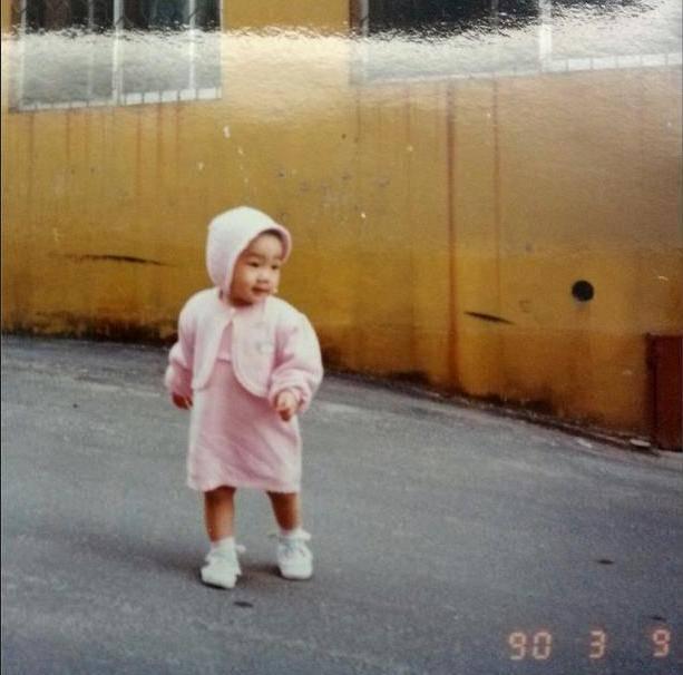แทยอน SNSD แชร์ภาพของเธอสมัยเป็นเด็กน้อยน่ารักอวดแฟนๆ
