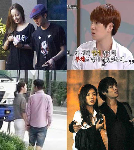 Hee Chul-Hara-Junhyung-Sulli-Choi za-Jonghyun-Shin Se Kyung