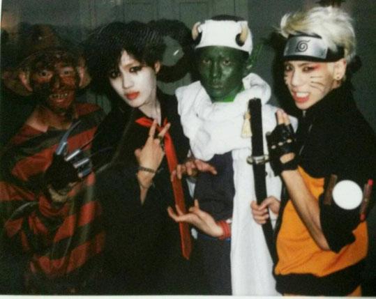 Jonghyun-SHINee-Key-Taemin-Onew-Halloween-2