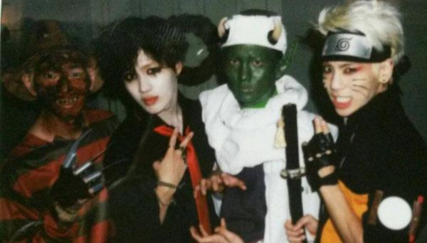 Jonghyun-SHINee-Key-Taemin-Onew-Halloween