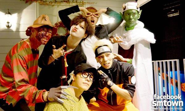 เผยภาพศิลปิน SM Entertainment กำลังปาร์ตี้ฮาโลวีน!!