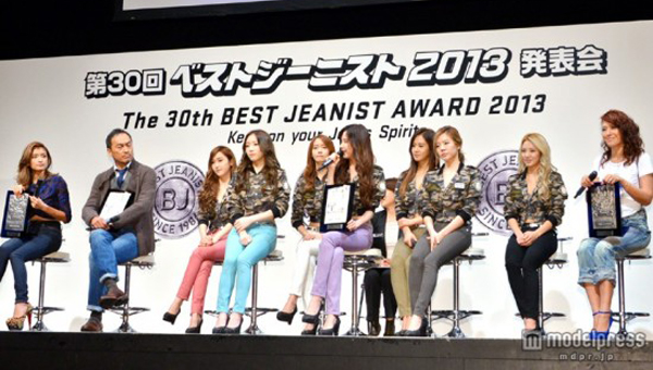 SNSD-Best Jeanist Award-2