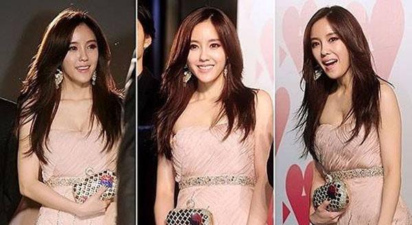 ฮโยมิน T-ara สวมชุดราตรียาวสุดสวยเข้าร่วมงาน 'Tokyo International Film Festival' ('TIFF')