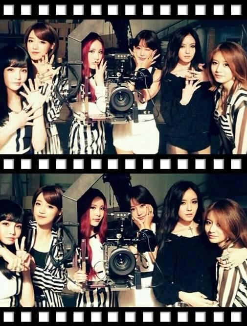 "T-ara แชร์ภาพถ่ายของพวกเธอขณะถ่ายทำ MV เพลงใหม่ล่าสุด ""Number 9"""