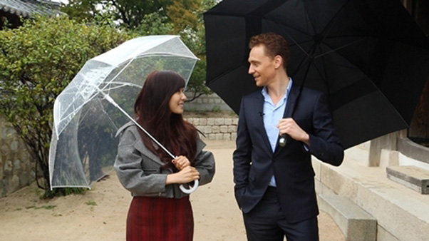Tiffany-Tom Hiddleston