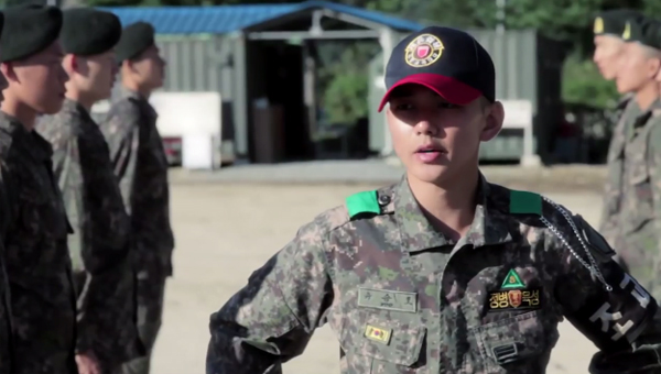 Yoo Seung Ho-Army