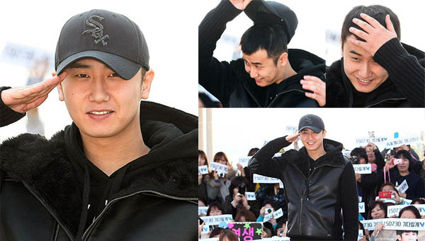 โฮยองแซงกล่าวอำลาก่อนเข้ากองทัพ พร้อมกับภาพบรรยากาศก่อนเข้ากรมในวันนี้!!
