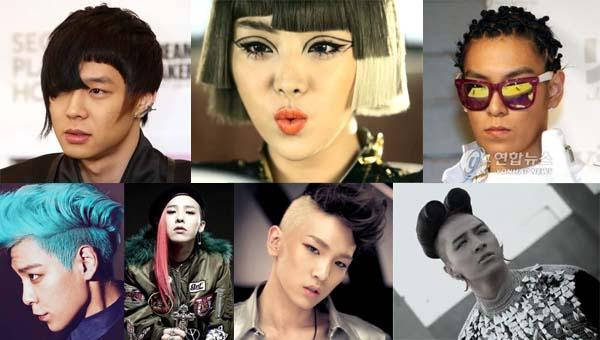 มาดูกันว่าไอดอล K-POP คนใดที่มีทรงผมได้แนวสุดๆบ้าง!!